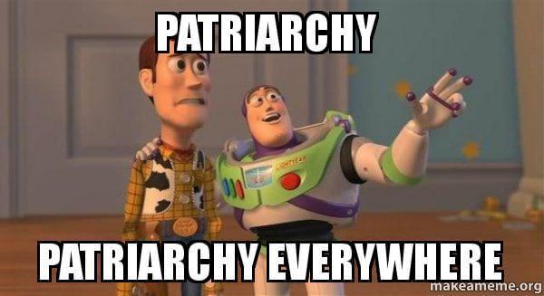 Patriarchy Buzz Lightyear | Womens Studies | Aimee Devlin
